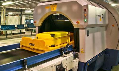 Sistema de inspecção automática de bagagem