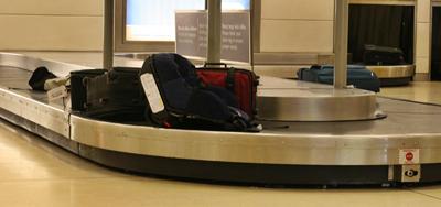 Tapete plano de recolha de bagagem