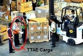 TTAE confere Carga aérea