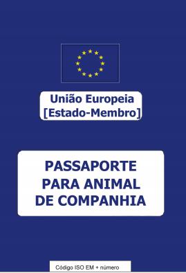 Passaporte para animal de companhia