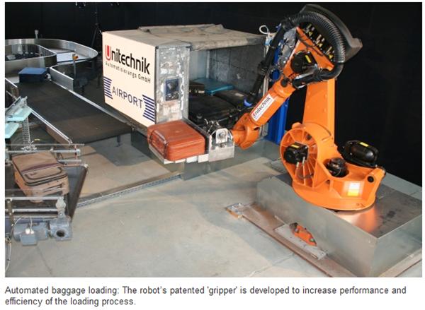 Robot para carregamento de bagagem