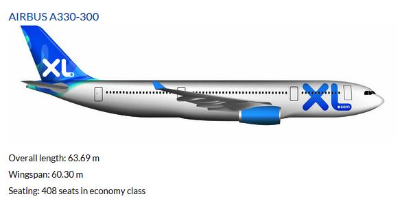 Airbus A330-300 da XL Airlines