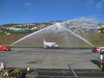 Windavia Airways no aeroporto do Funchal