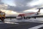 Fokker Avianca aterragem de emergência