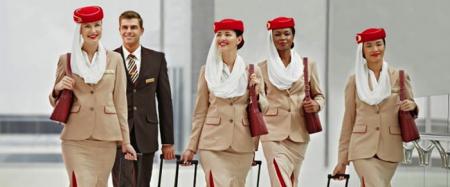 Pessoal Cabine da Emirates