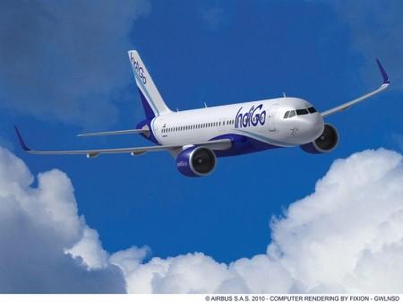 Airbus A320neo da indiana IndiGo