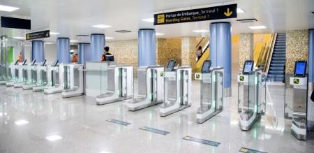Aeroproto Lisboa controlo automático de Passageiros