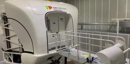 Novo simulador da TAP em Tires