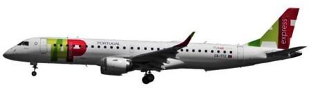 TAP Embraer E1 95